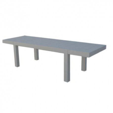 Jut Mesa 280 Table rectangular Vondom grey