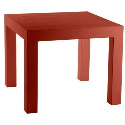 Jut Mesa 90 Table high Vondom Red