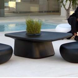 低テーブル プランター ブラック サラマーゴ財団ニューヨーク近代美術館