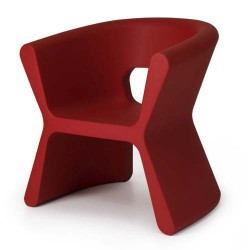 PAL furrow Chair Vondom Red