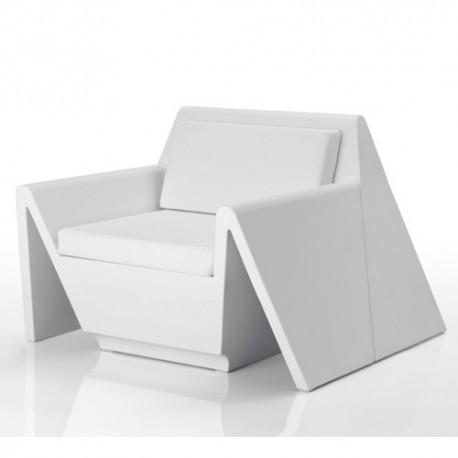 Rest armchair Vondom white Matt