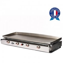 Plancha Tonio Lagoa 4 lights box and plate stainless steel gas