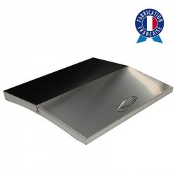 Cover all Inox for griddle gas 4 lights Lagoa