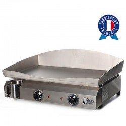 Plancha electric 2 resistance box and plate Inox Electica Tonio