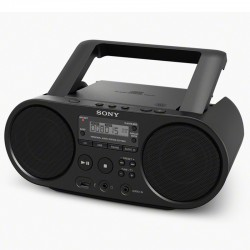Radio Sony CD Lecteur MP3 Via Port USB Noir