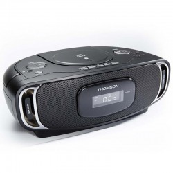 Thomson Radio CD Lecteur MP3 Bluetooth USB Noir