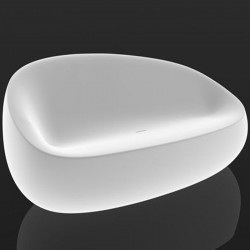 Light Stone Vondom Sofa white sofa