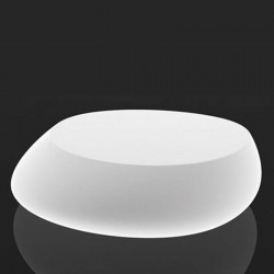 Table low light Stone Vondom white