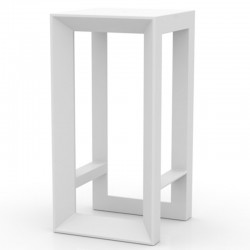 Vondom white Frame Bar high table
