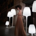 Lamp Design white H70 Vondom Vases