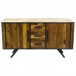 Buffet 2 doors wood and Metal Kusso KosyForm