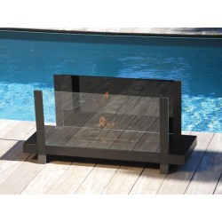 Fireplace ethanol Fire Bench AxiJet BlueLite Automatic Neoflame electronics