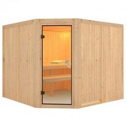 Sauna Vapeur Finlandais Farin 4 Places