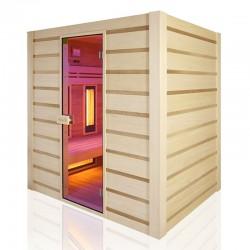 Traditional sauna Combi Holl's hybrid