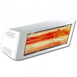 Отопление инфракрасным Heliosa Привет дизайн 44 белый Carrara 1500W IPX5