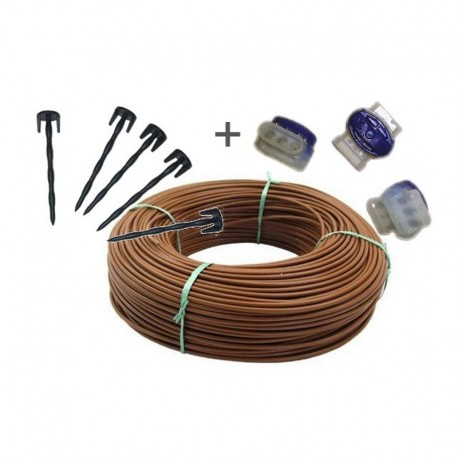 Kit wire Perimetral 150 m with nails for Robot mower Ambrogio