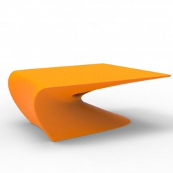 Low table design wing Vondom Orange mat