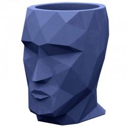 El modelo mediano azul Pot Adan VONDOM