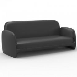Canapé Sofa Vondom Pezzettina Anthracite Mat
