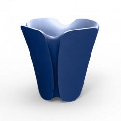 Pot Jardinière Design Pezzettina Vondom Bleu 50x50xH85