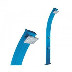 Formidra الربيع 30L الأزرق الألومنيوم دش الطاقة الشمسية