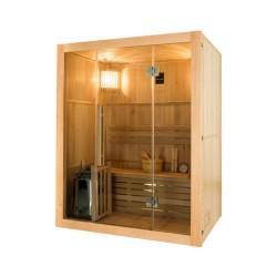 Gaïa Nova 6-seater outdoor sauna with Harvia stove 8 kW