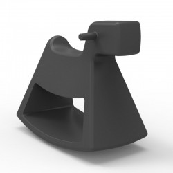 Chaise à bascule Rosinante Vondom Grand modèle anthracite
