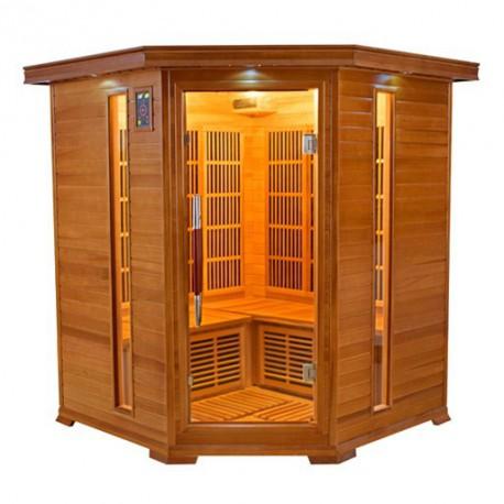 Infrared sauna luxury 3-4 seats - Selection VerySpas