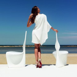 Garden BIOPHILIA Vondom - white Chair