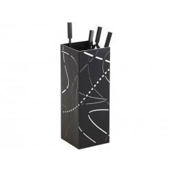 Servant Flame black frosted white interior nineteen design