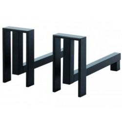 Andirons Alter right black nineteen design