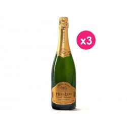 Champagne HeraLion shine of gold Reserve Brut (box of 3)