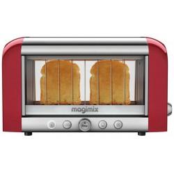 烤面包机红色 11540 Magimix 视觉烤面包机