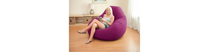 Chairs, mattresses and inflatable furniture